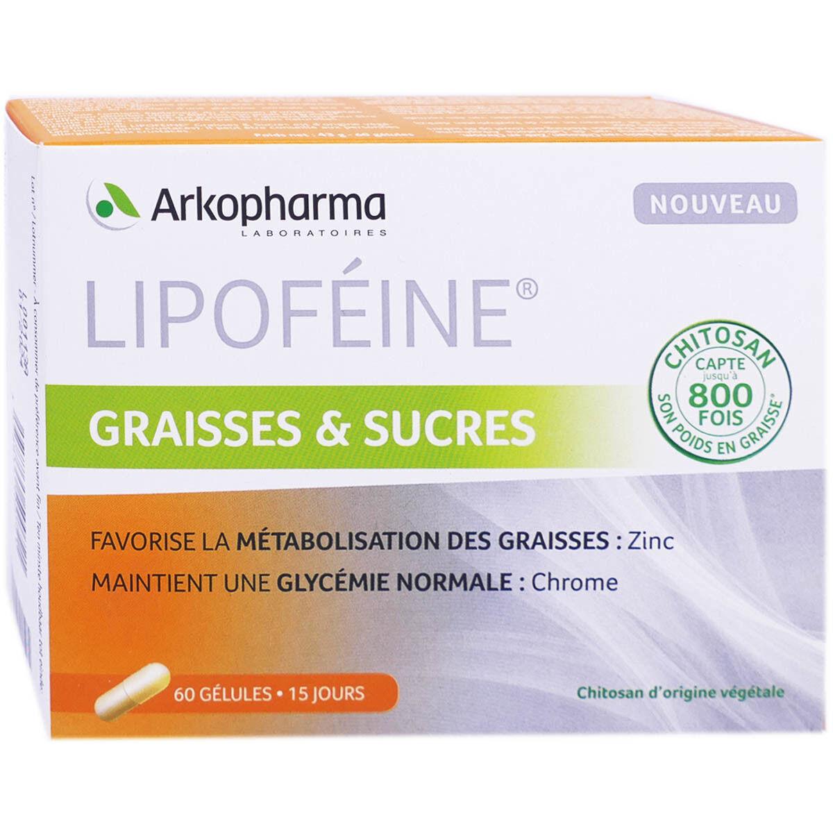 ARKOPHARMA Akopharma lipofeine graisses & sucres 60 capsules