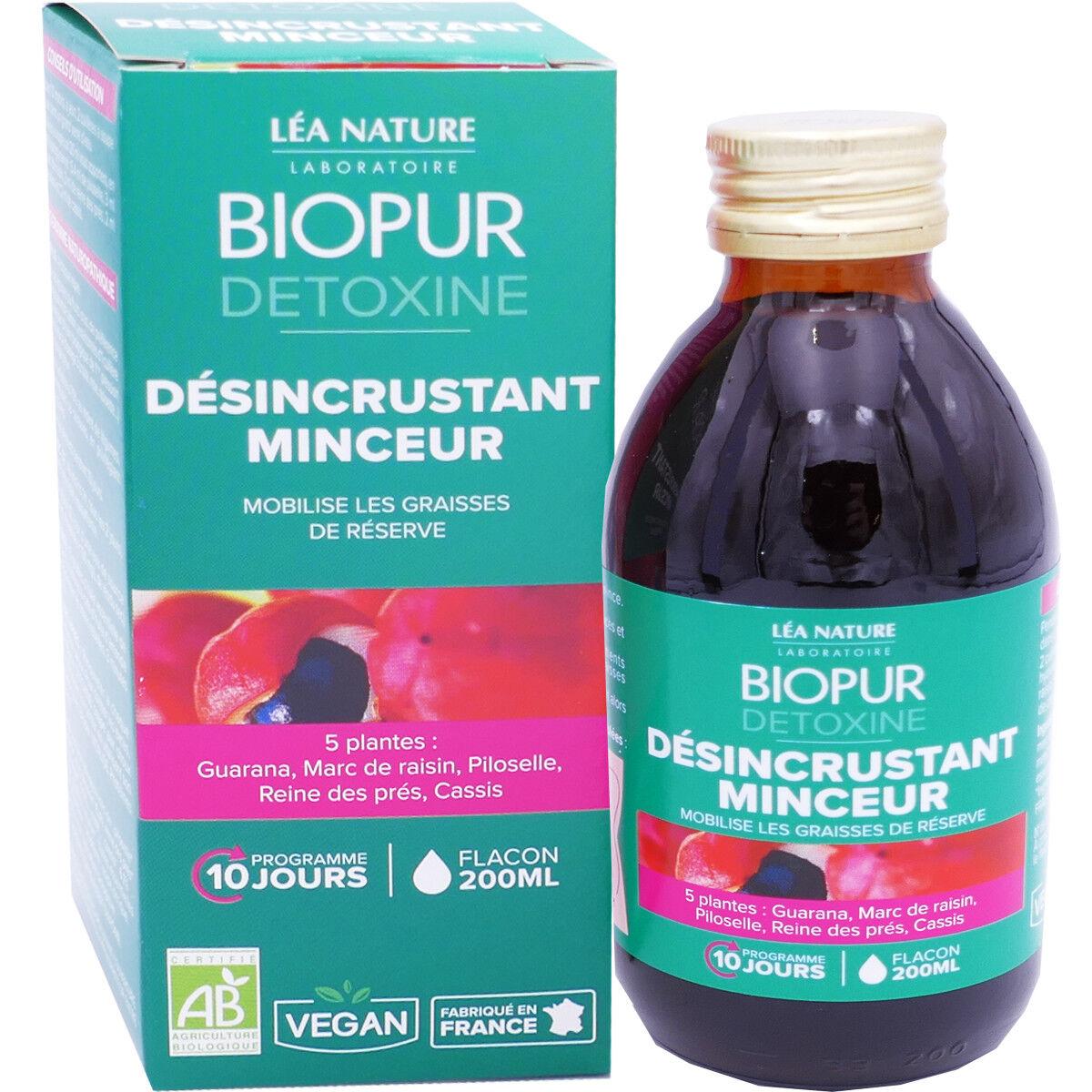 LEA NATURE Biopur dÉsincrustant minceur 200 ml bio