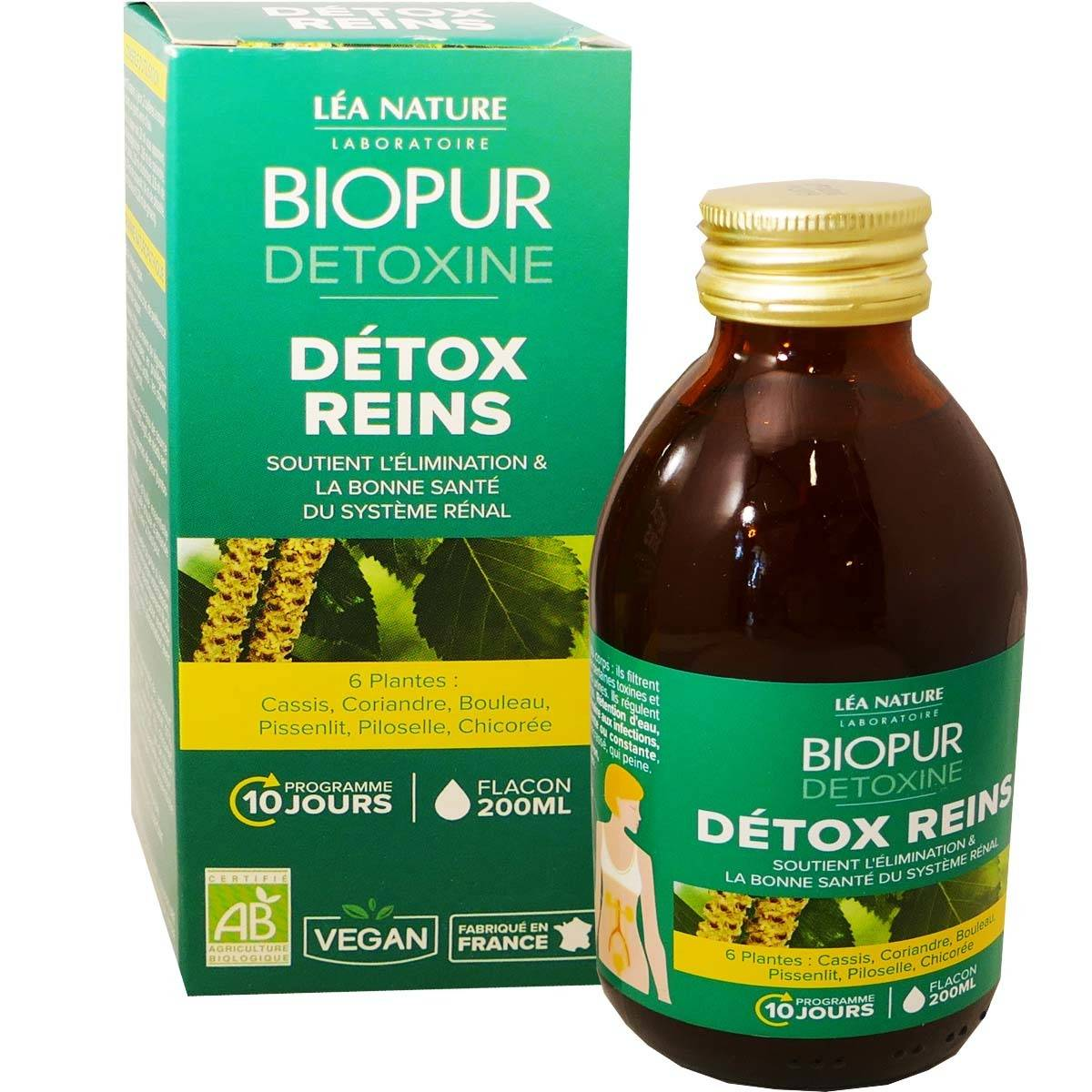 Lea nature biopur detoxine reins bio 200 ml