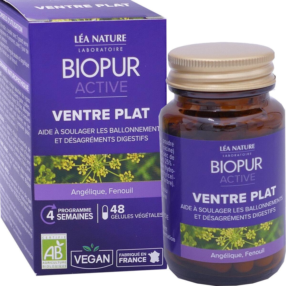 LEA NATURE Biopur ventre plat minceur 48 gÉlules bio