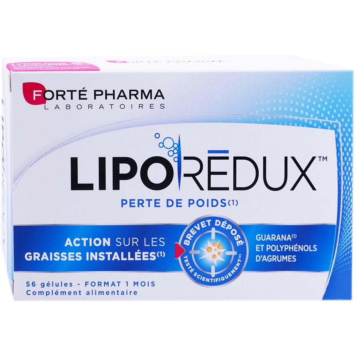 Forte pharma liporedux perte de poids 56 gelules