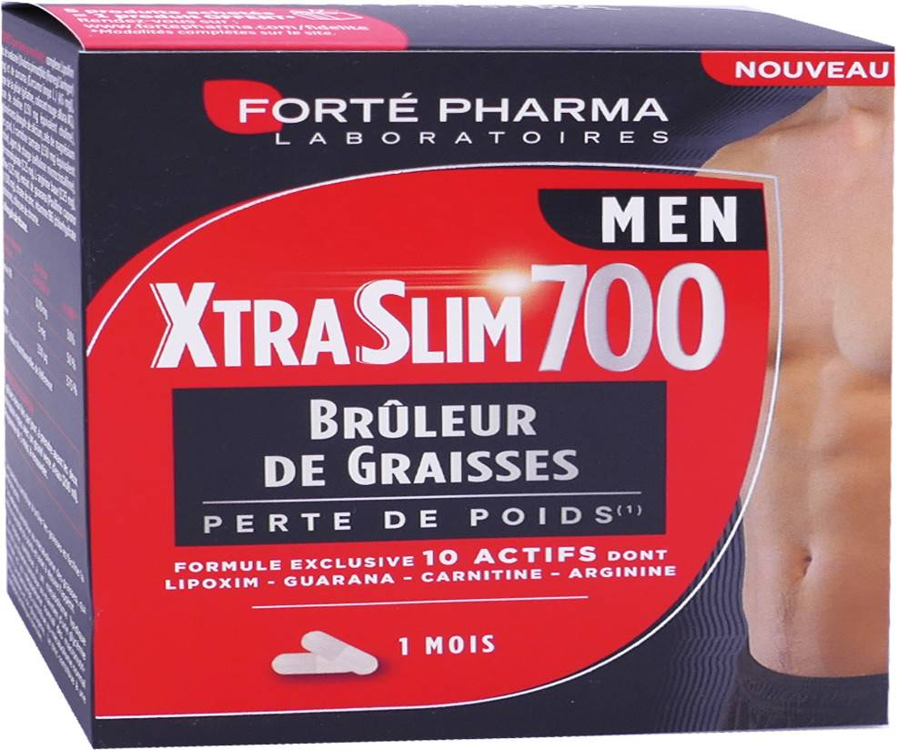 Forte pharma xtraslim 700 bruleur de graisses 1 mois men