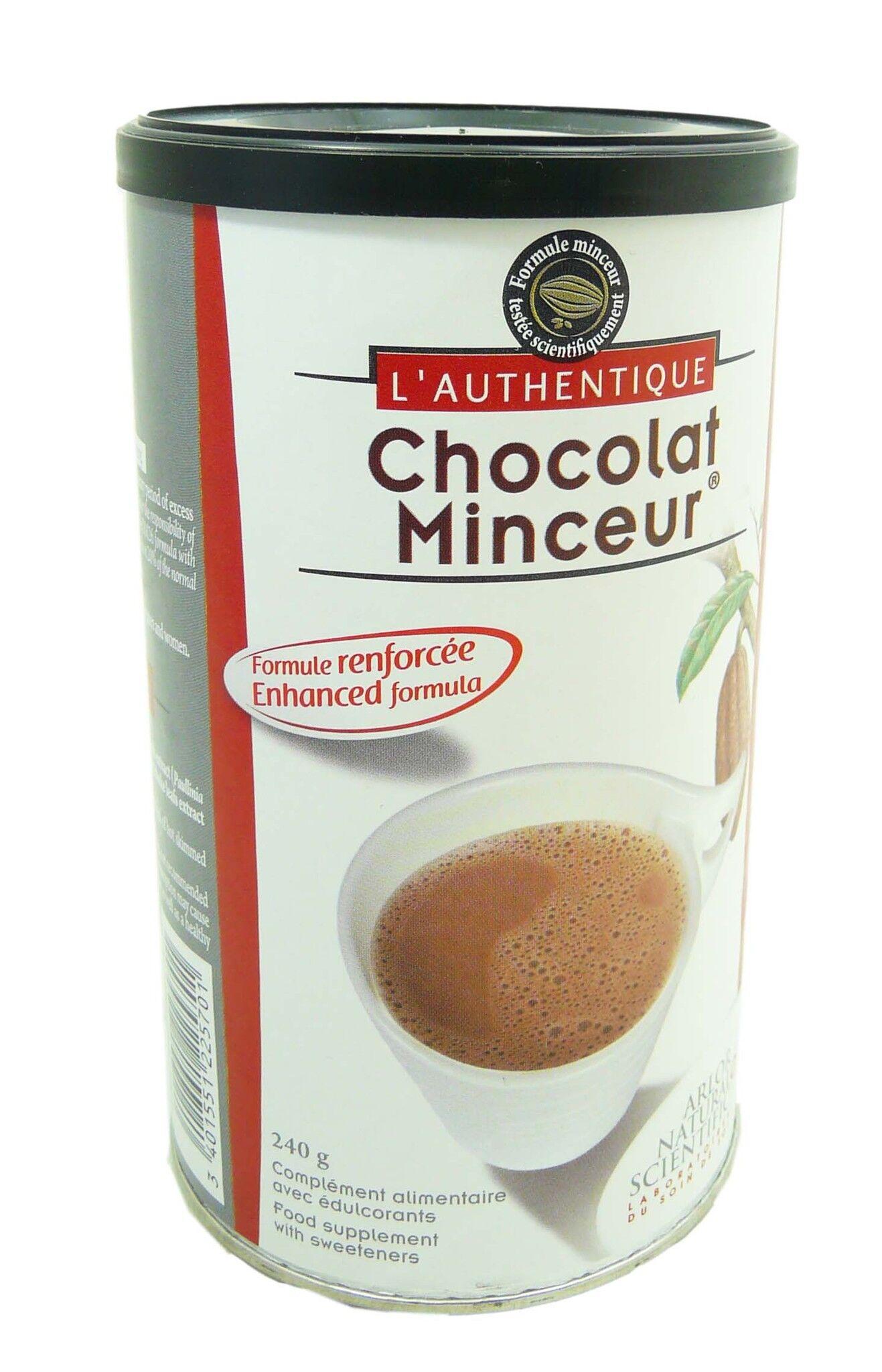 ARLOR Chocolat minceur a l'extrait de stevia 240g