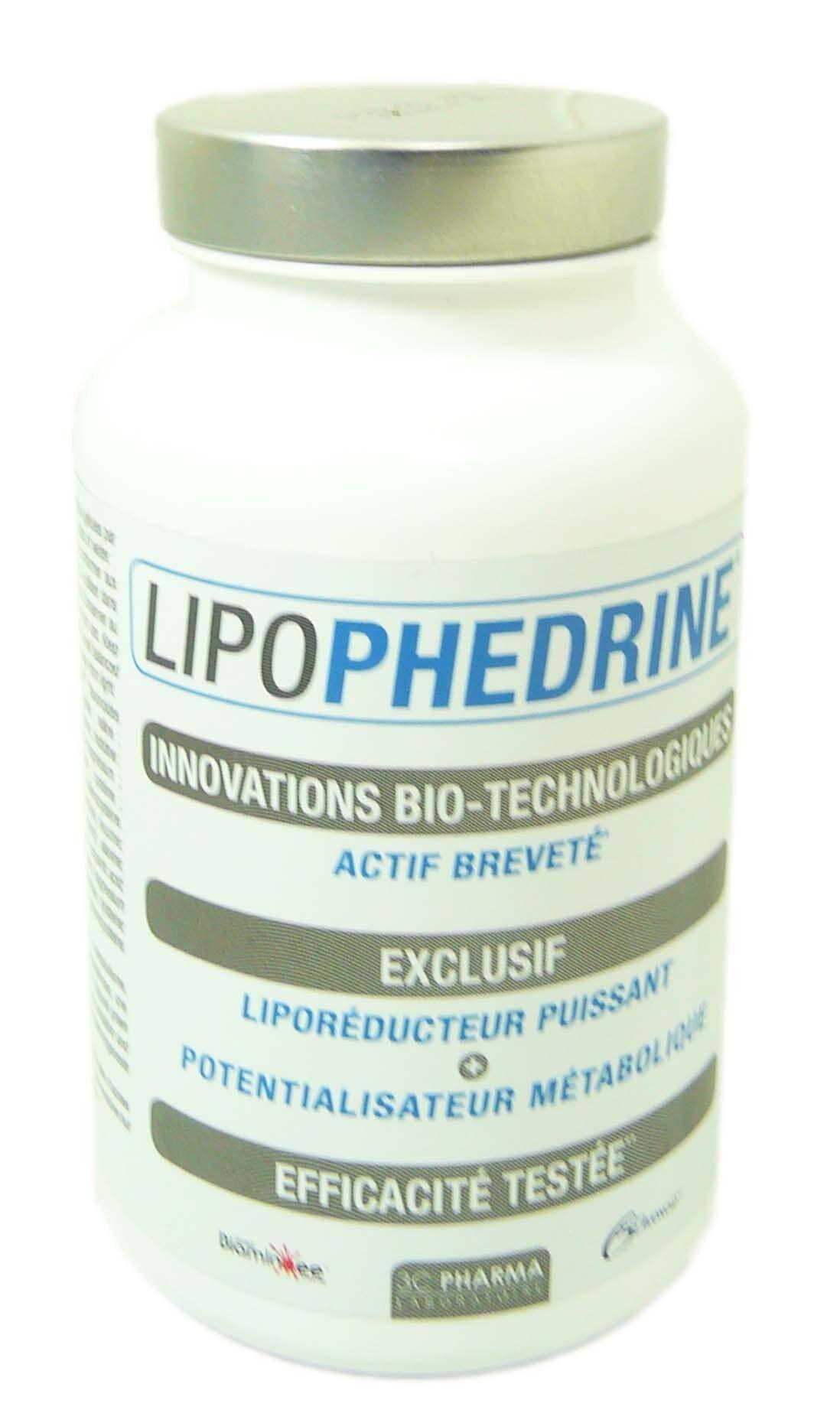 3C PHARMA Lipophedrine liporeducteur puissant 80 gelules