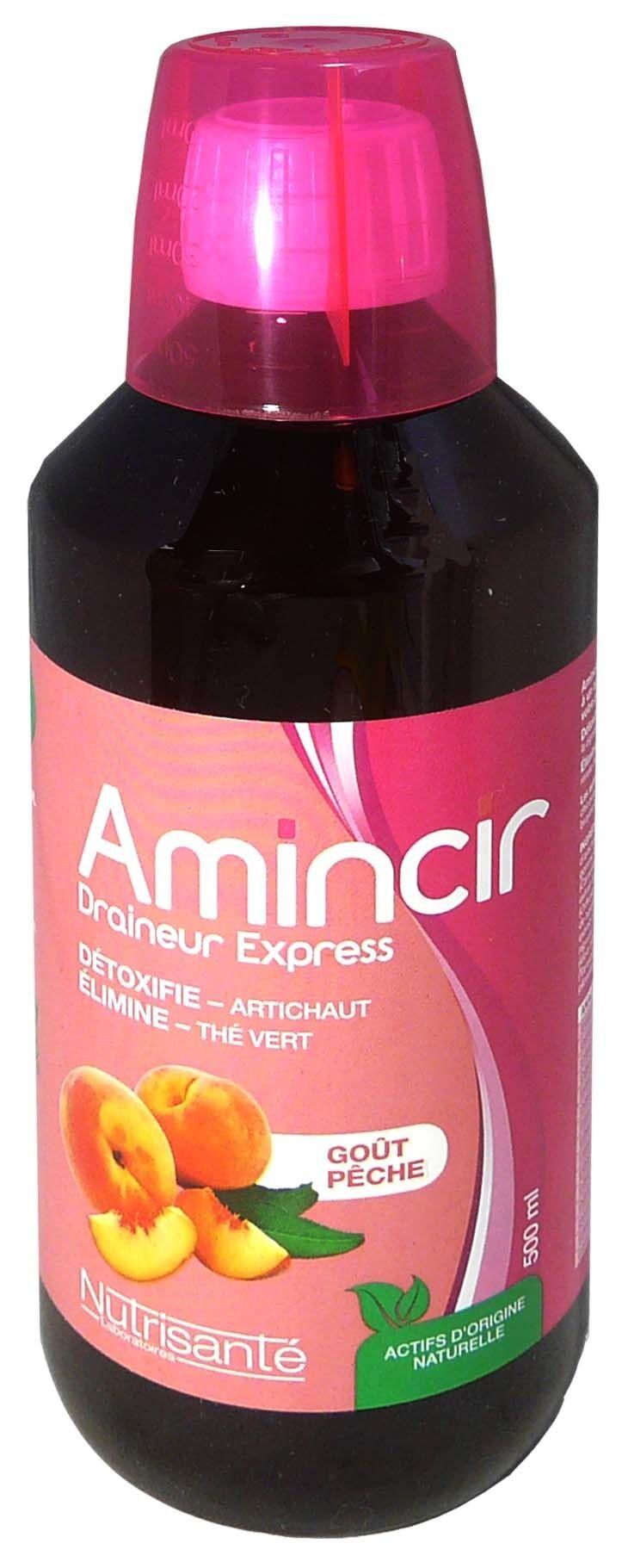 Nutrisante amincir draineur express gout peche 500ml