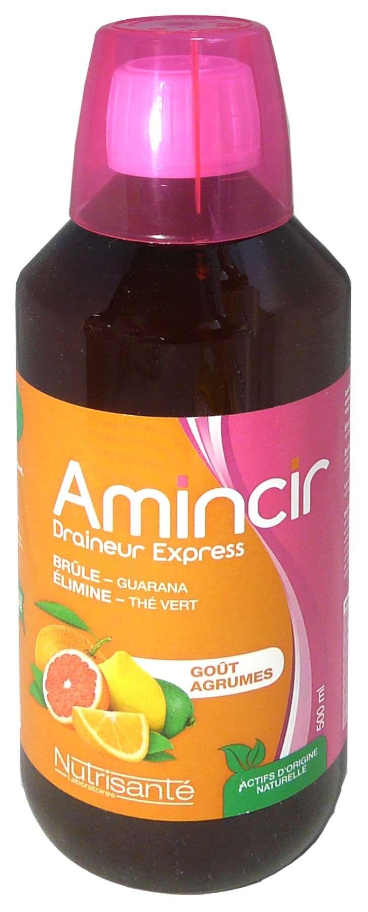 Nutrisante amincir draineur express gout agrumes 500ml
