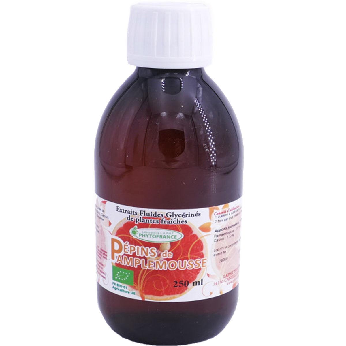 Phytofrance pÉpins de pamplemousse 250 ml