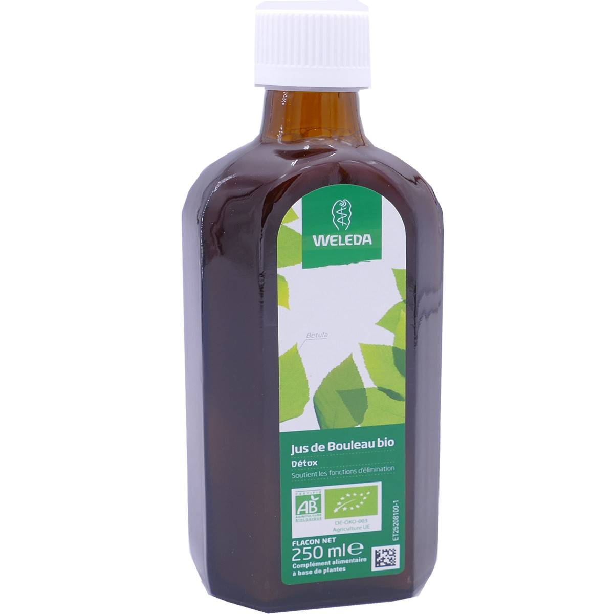 Weleda jus de bouleau bio 250 ml detox