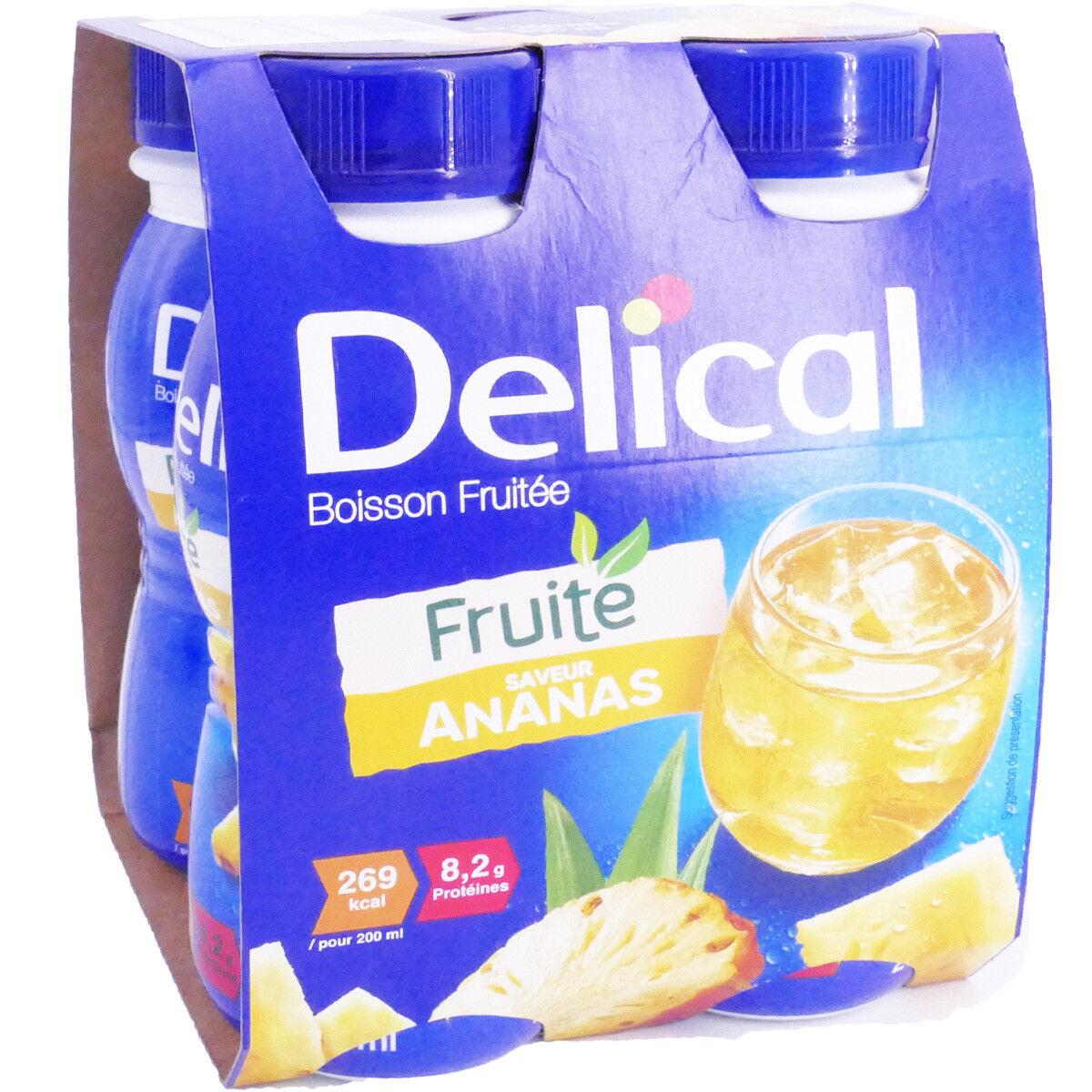 Delical fruite  ananas 4x200 ml