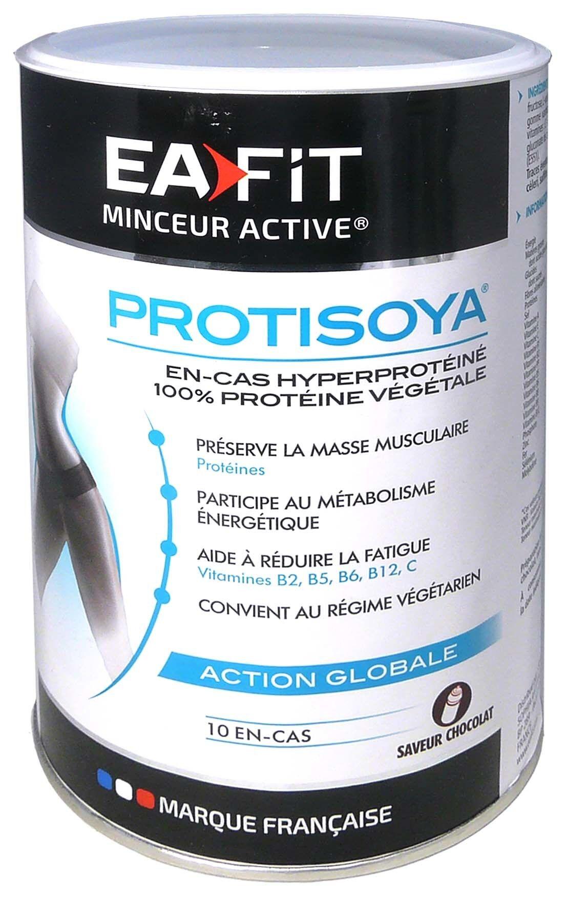 Eafit protisoya action globale gout chocolat 320g
