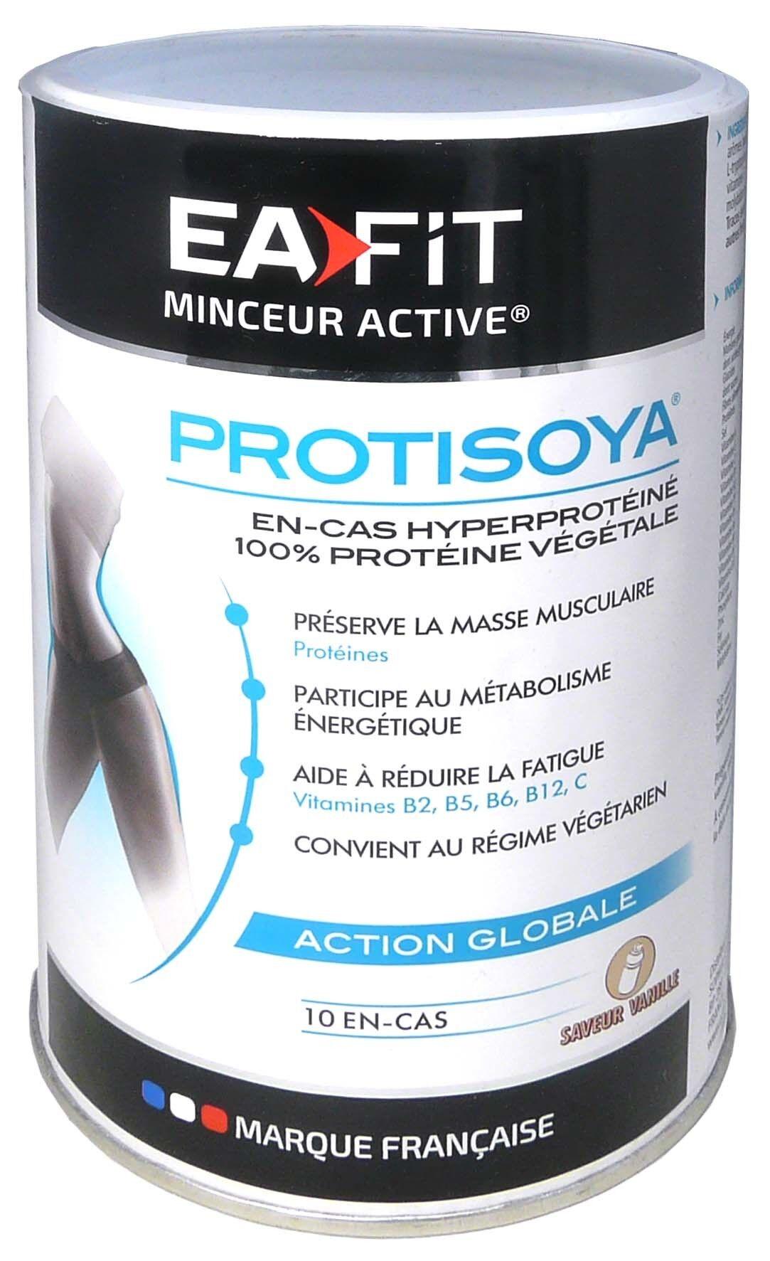 Eafit protisoya action globale gout vanille 320g