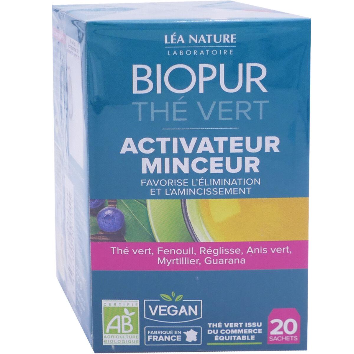 LEA NATURE Biopur the vert activateur minceur 20 sachets bio
