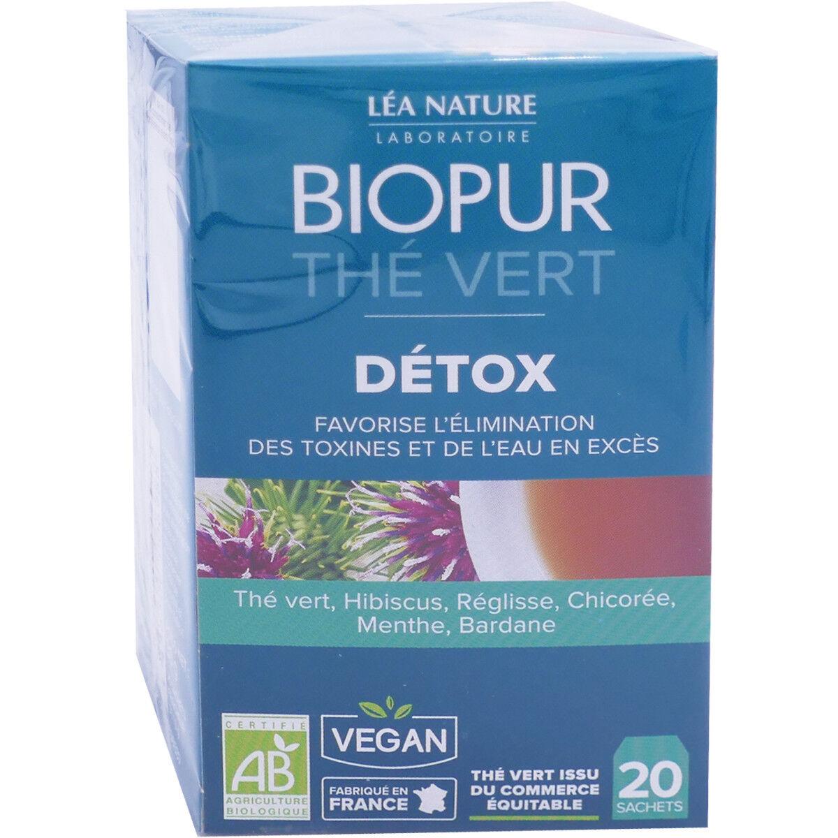 LEA NATURE Biopur the vert detox 20 sachets bio
