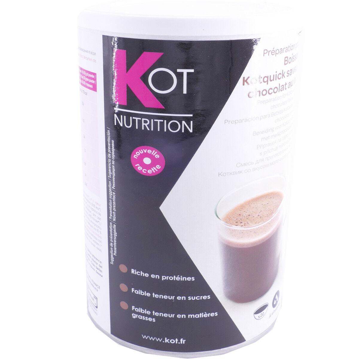 Kot nutrition boisson kotquick chocolat 400g
