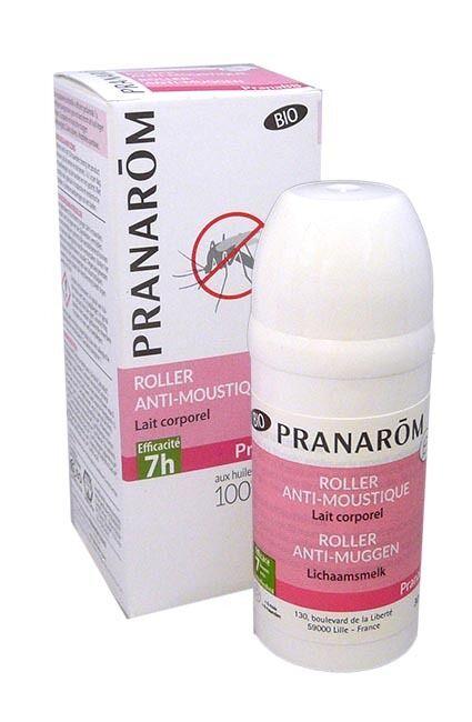 Pranarom bio bebe roller anti moustique lait corporel 30 ml