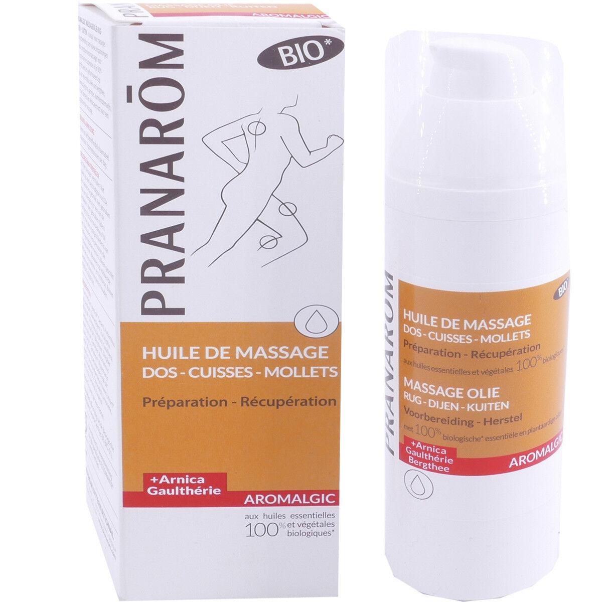 Pranarom huile de massage bio 100 ml