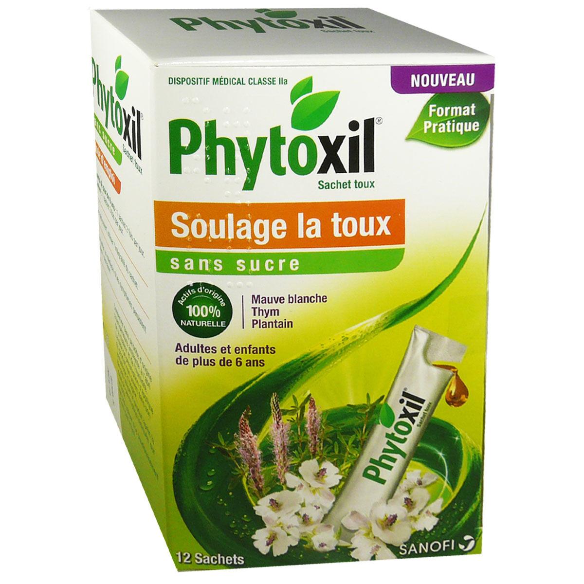 SANOFI AVENTIS Phytoxil soulage la toux 12 sachets sans sucre