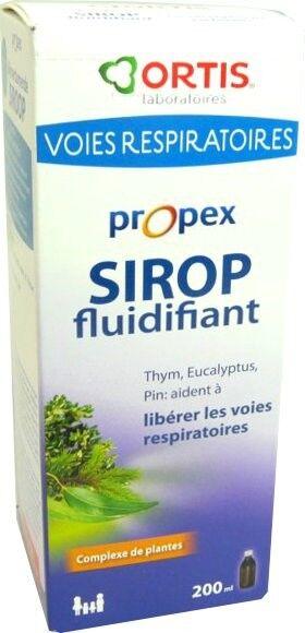 ORTIS Propex sirop fluidifiant voies respiratoires 200ml
