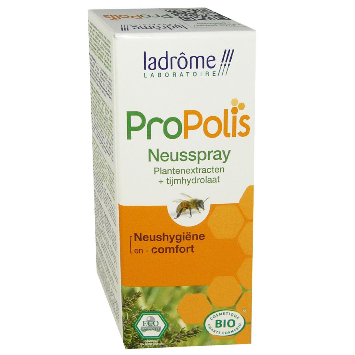 LADROME Propolis spray nasal extrait de plantes bio 30 ml