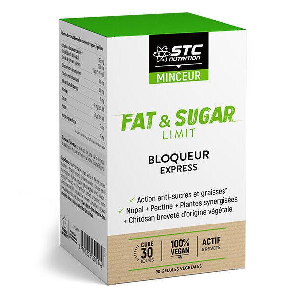 STC NUTRITION Stc minceur fat & sugar bloqueur express 90 gelules