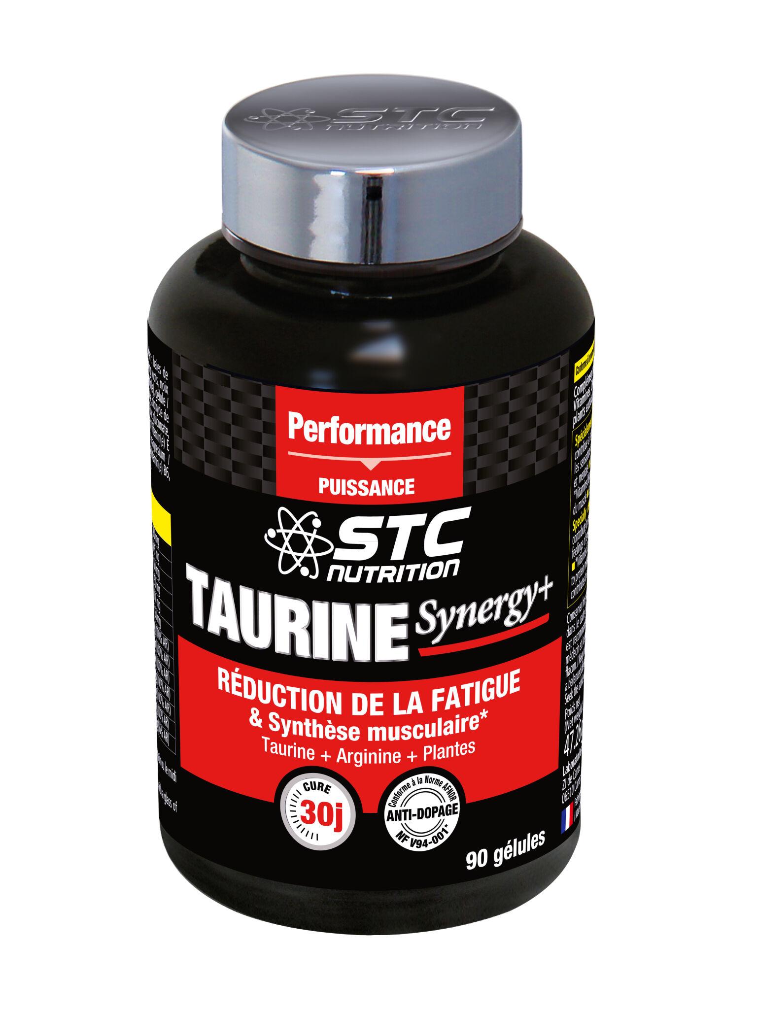 Stc nutrition taurine synergy+ en 90 gelules