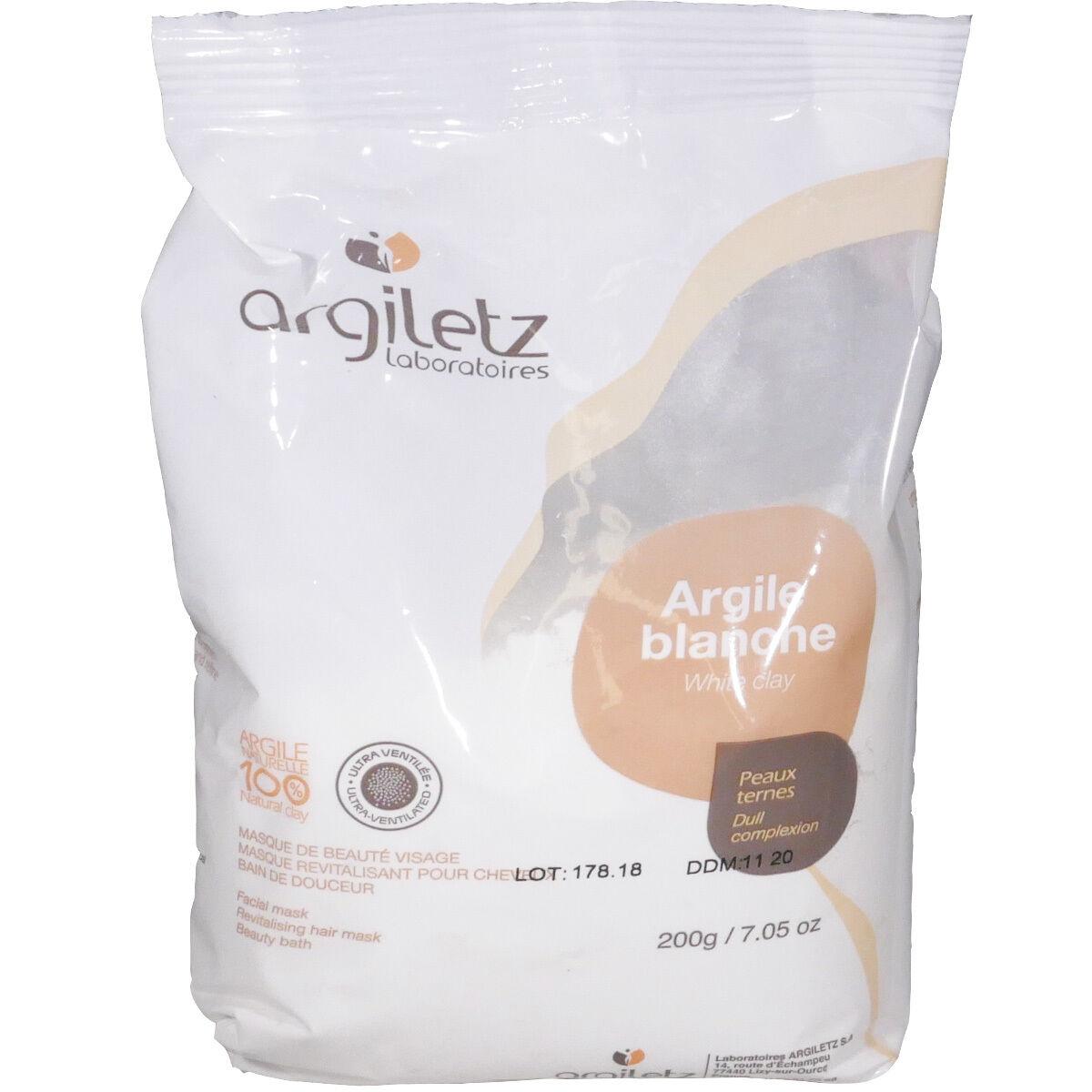 Argiletz argile blanche peaux ternes poudre 200 g