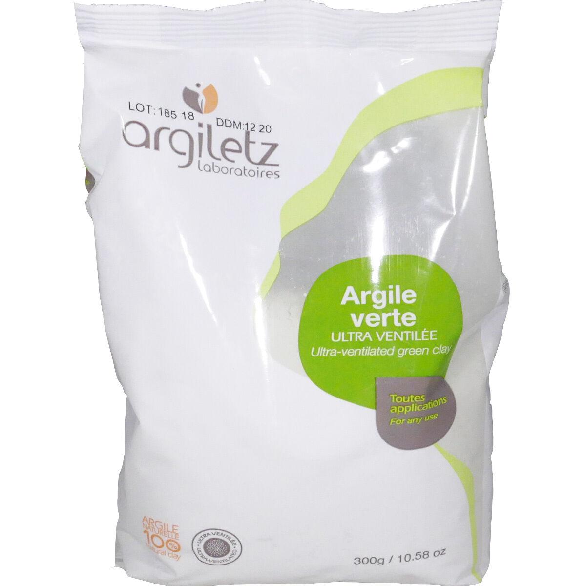 Argiletz argile verte toutes applications poudre 300 g