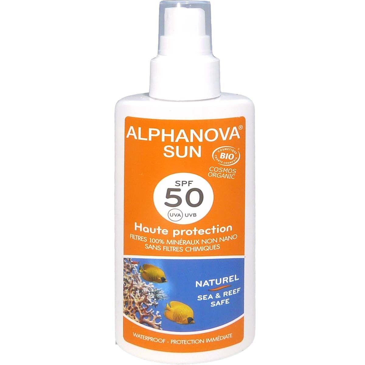 Alphanova sun bio spf50 125g