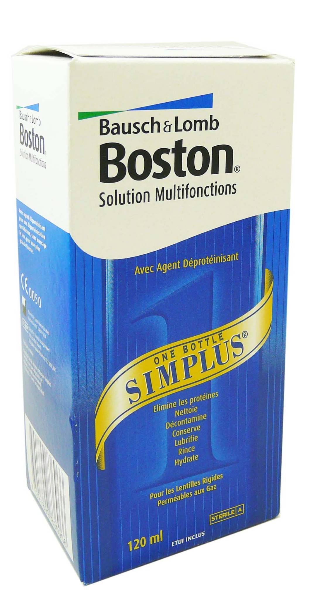 BAUSCH & LOMB Bausch lomb boston solution multifonctions120ml