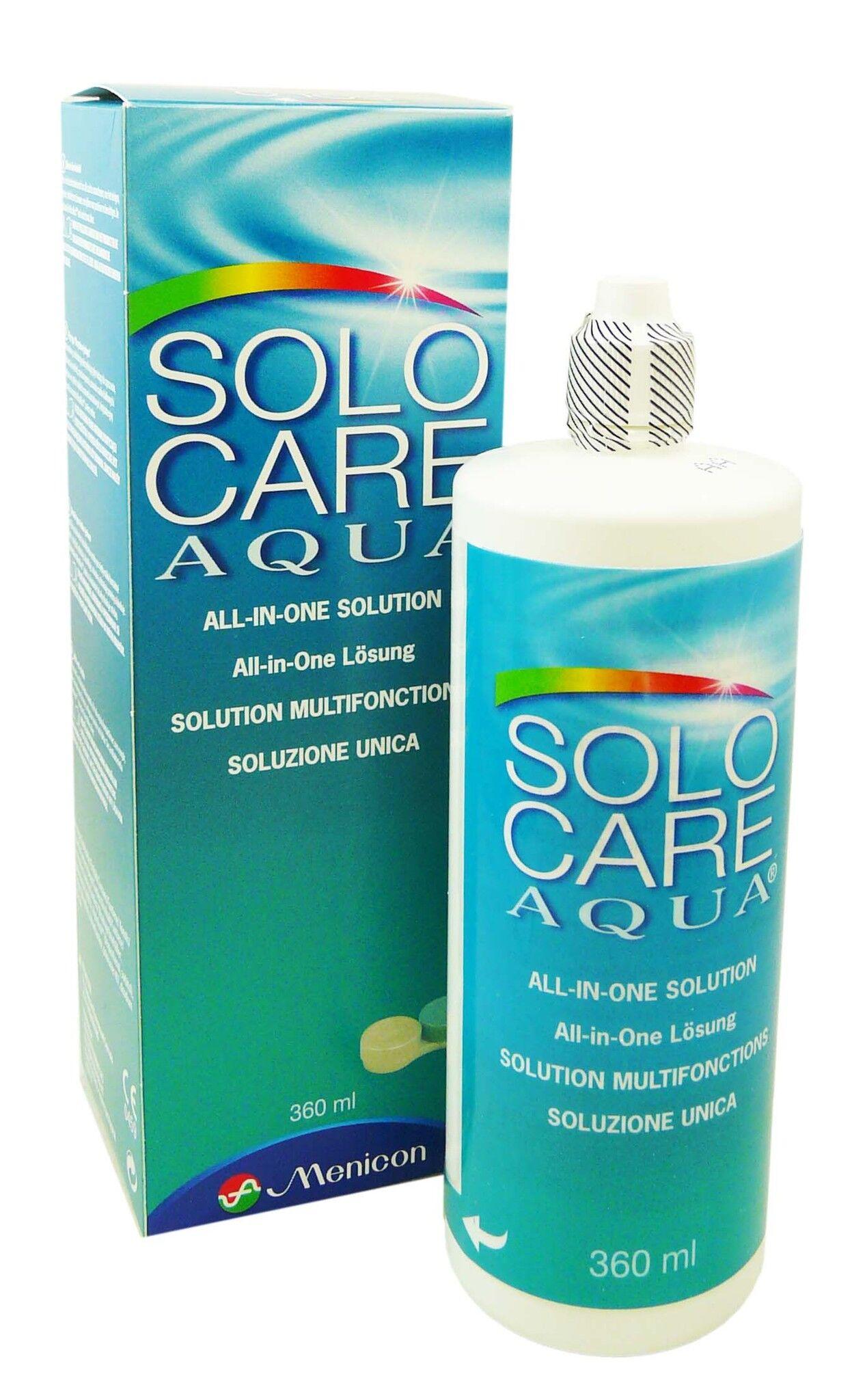 MENICON Solo care aqua solution multifonctions 360ml