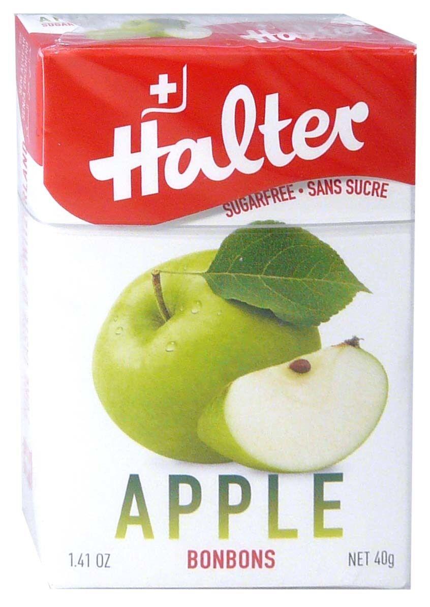 Bonbon halter sans sucre pomme 40g