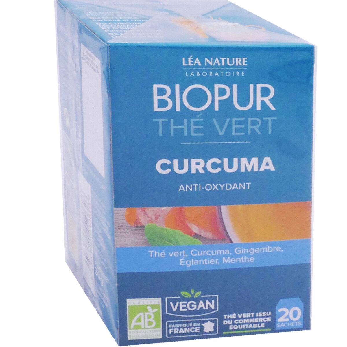 Biopur the vert curcuma 20 sachets