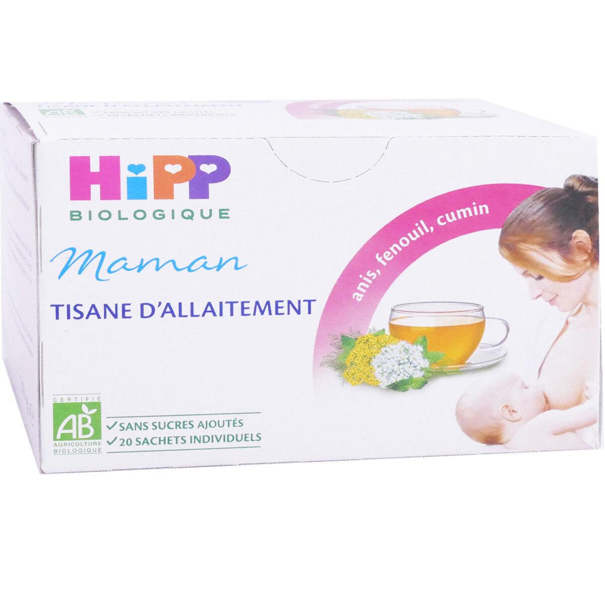 Hipp maman tisane d'allaitement 20 sachets