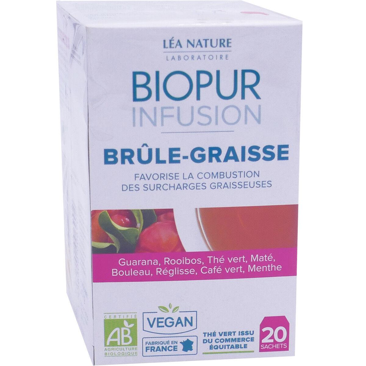 LEA NATURE Biopur infusion brule-graisse 20 sachets bio
