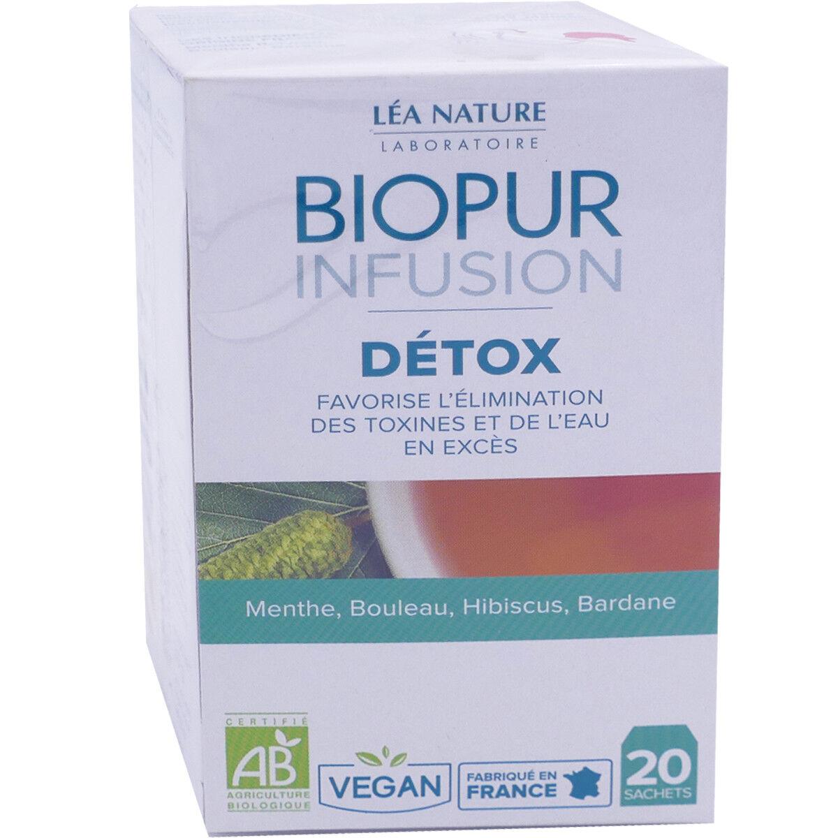 LEA NATURE Biopur infusion detox 20 sachets bio