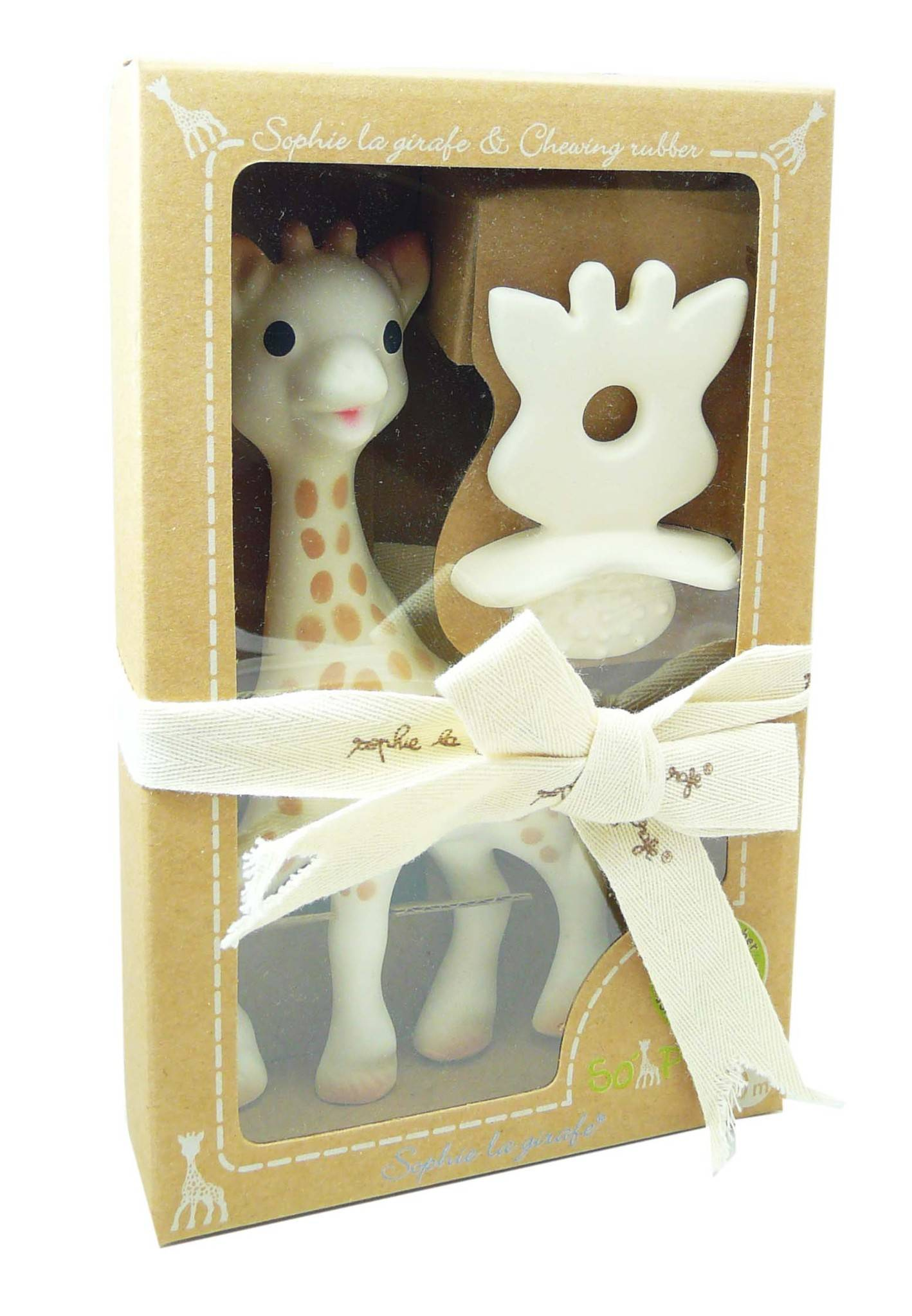 SOPHIE LA GIRAFE So' pure sophie la girafe + anneau de dentition