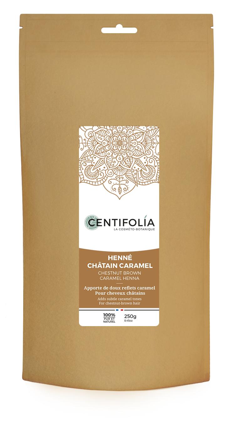 Centifolia Henné châtain caramel