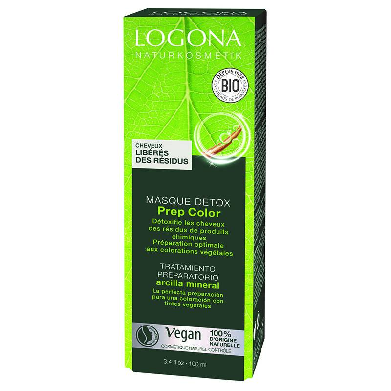 Logona Masque préparateur coloration Detox Prep Color