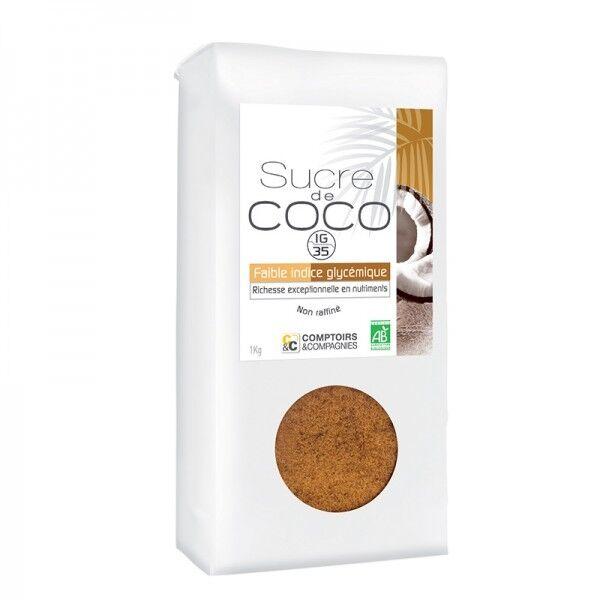 Comptoirs et Compagnies Sucre de coco bio - 1 kg