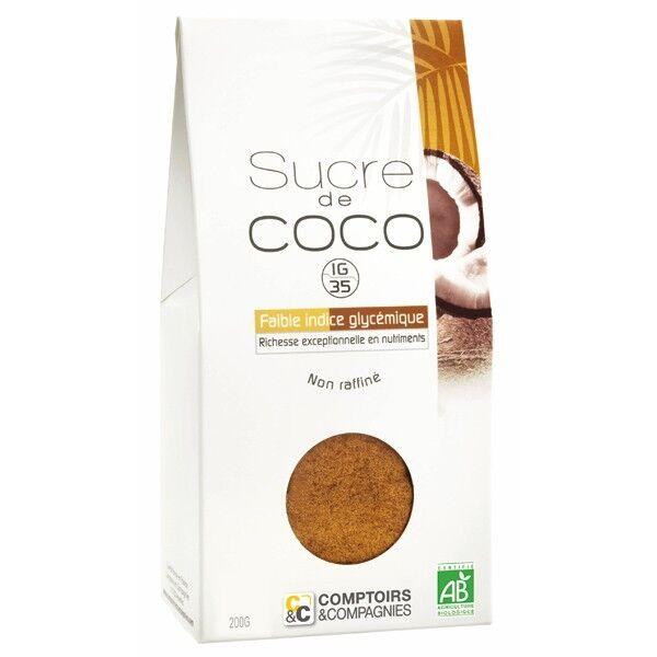 Comptoirs et Compagnies Sucre de coco bio - 200 g