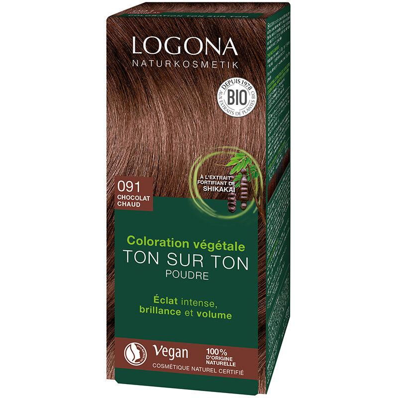 Logona Soin colorant 100% végétal bio Chocolat chaud
