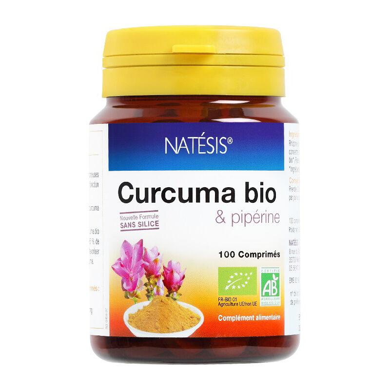 Natésis Curcuma bio & pipérine - 100 cp