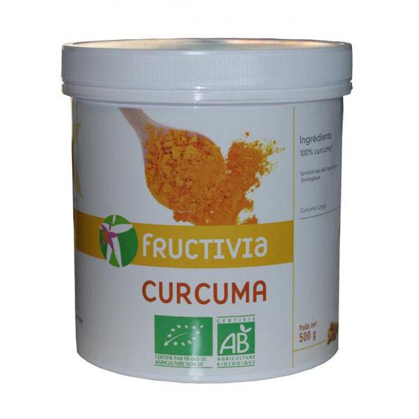 Fructivia Curcuma bio en poudre Pot 500g