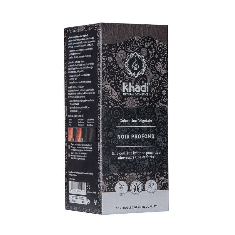 Khadi Teinture aux plantes ayurvédiques bio Noir