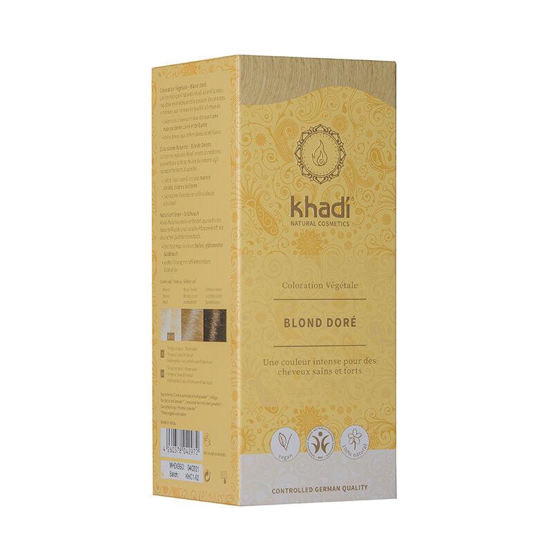 Khadi Teinture aux plantes ayurvédiques bio Blond doré
