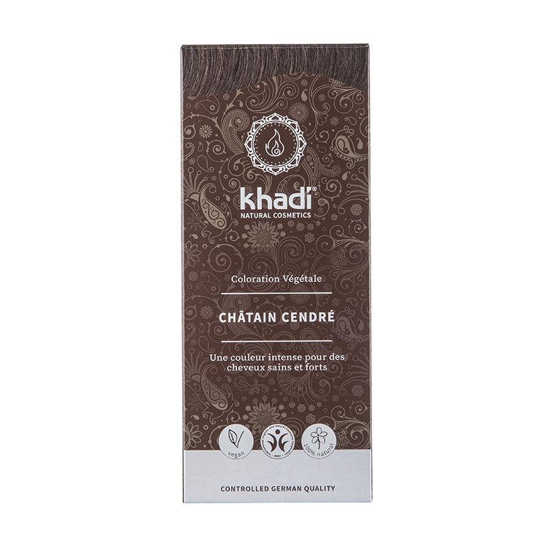 Khadi Teinture aux plantes ayurvédiques bio Châtain cendré