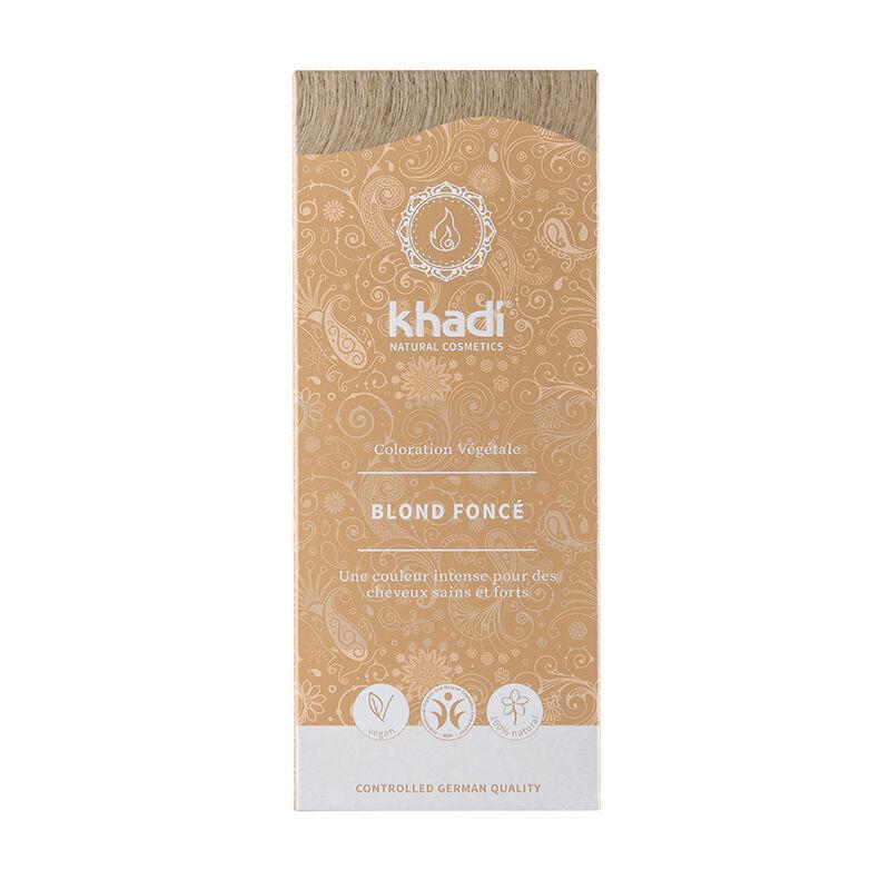 Khadi Teinture aux plantes ayurvédiques bio Blond foncé