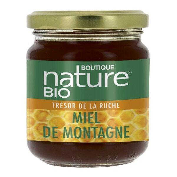 Boutique Nature Miel de montagne bio