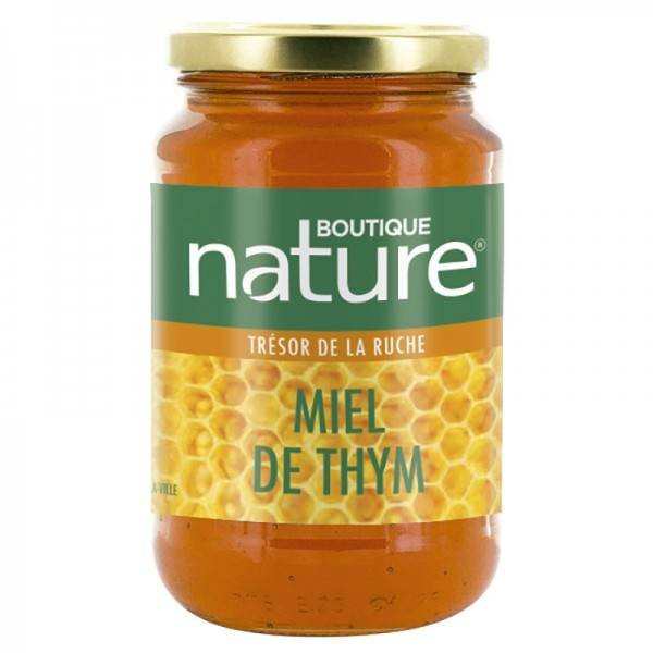 Boutique Nature Miel de thym grand format