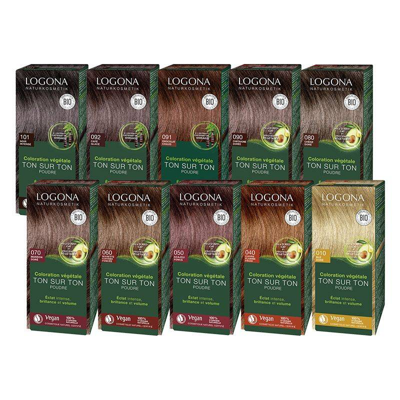Logona Soin colorant 100% végétal bio